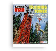 Action Man training tower Metal Print