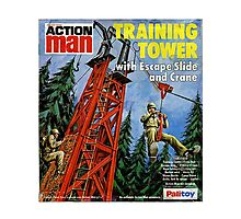 Action Man training tower Photographic Print