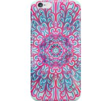 Pink and blue mandala iPhone Case/Skin
