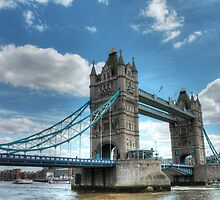 Tower Bridge Bascule bridge in London, England by Andy Wickenden