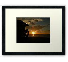 End of Summer.... Framed Print