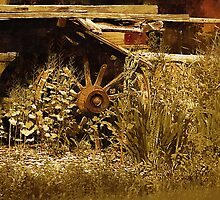 Country Rustic Scene No. 1 by Barry W  King