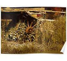 Country Rustic Scene No. 1 Poster