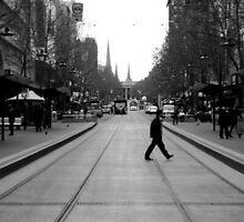 Street Walker by Caroline Gorka