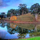Morning reflections in Oakbank by Elana Bailey