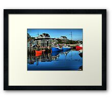 Morning in Peggy's Cove Framed Print