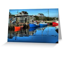 Morning in Peggy's Cove Greeting Card