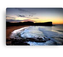 Temptation - Avalon - Sydney Beaches - The HDR Series, Sydney Australia Canvas Print