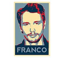 James Franco - Hope Poster Photographic Print