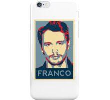 James Franco - Hope Poster iPhone Case/Skin