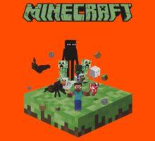 minecraft fear Kids Clothes