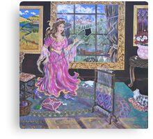 """The Lady of Shalott"" Canvas Print"