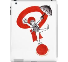 Doctor 7 on a ? iPad Case/Skin