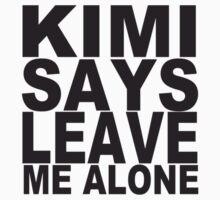 KIMI SAYS by Niino