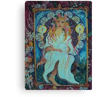 Angel of Spring Canvas Print