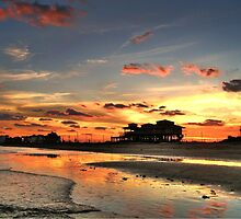 Galveston Sunset by Savannah Gibbs