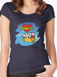 FAMILY IS... Women's Fitted Scoop T-Shirt