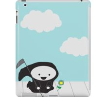 Grim Reaper and Flower iPad Case/Skin