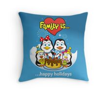 FAMILY IS... Throw Pillow