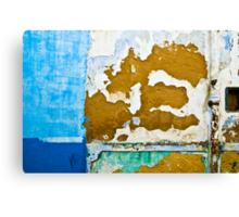 Blue Patches Canvas Print