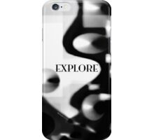 Psychmaster Explore BW iPhone Case/Skin