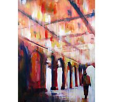 Central Park NYC Impressionist Abstract Realism Photographic Print