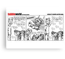Bubbleworld Volume 3 Canvas Print