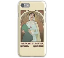 The Scarlet Letter - Nathaniel Hawthorne iPhone Case/Skin