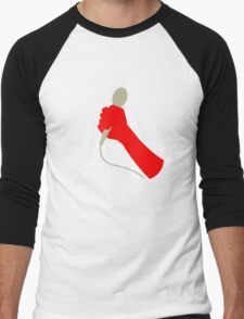 The mic. Men's Baseball ¾ T-Shirt