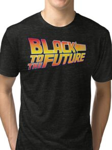 McSuperfly Special (Black to the Future) v2 Tri-blend T-Shirt