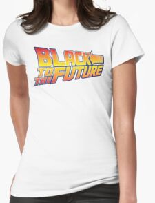 McSuperfly Special (Black to the Future) v2 Womens Fitted T-Shirt