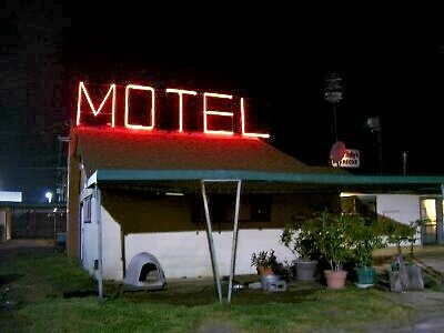 No Frills Motel - Texas by Gary  Crandall