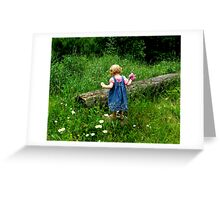 Wildflower Excursion Greeting Card