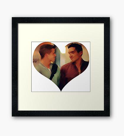 Dethan's Heart Framed Print