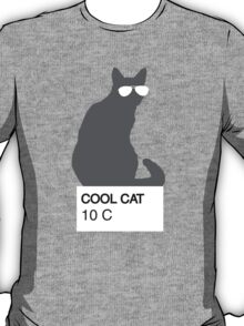 Cool Cat Color Matching T-Shirt