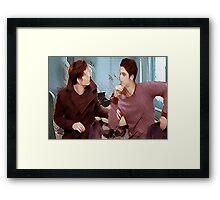 Scisaac [Dangerous Contact] Framed Print