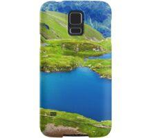 Lake and mountain (Capra Lake in Romania) Samsung Galaxy Case/Skin
