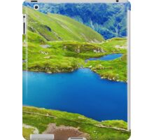 Lake and mountain (Capra Lake in Romania) iPad Case/Skin