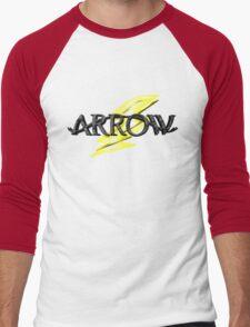 Tv Series Arrow and Flash cross-over Men's Baseball ¾ T-Shirt