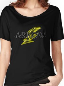 Tv Series Arrow and Flash cross-over Women's Relaxed Fit T-Shirt