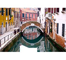 Backstreets of Venice... Photographic Print
