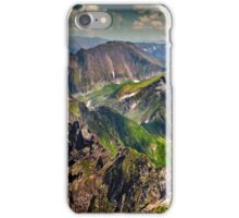 Landscape with Fagaras mountains in Romania iPhone Case/Skin