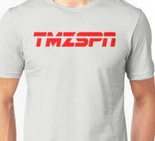 ESPN + TMZ = TMZSPN Unisex T-Shirt