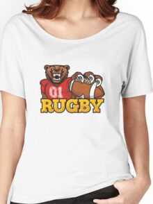 RUGBY. I love rugby. Women's Relaxed Fit T-Shirt