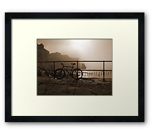 Bicycle Point Framed Print