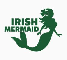 Irish mermaid Baby Tee