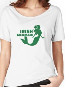Irish mermaid Women's Relaxed Fit T-Shirt