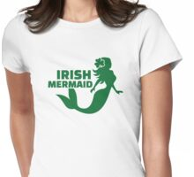 Irish mermaid Womens Fitted T-Shirt
