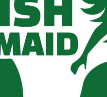 Irish mermaid Sticker