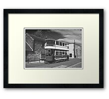 Back to the Future ..... Framed Print